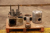 Big piston heads and engine components