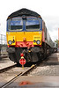 Now my take on the 66 420 pics <br /> <br /> 66 420 heads up a line up of DRS 66's
