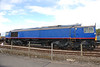 I also took a front on shot of 66 411 i think it looks quite nice in this plain blue