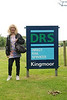 Liz posses next to the DRS Kingmoor sign a seminar shot just had to be done i thought