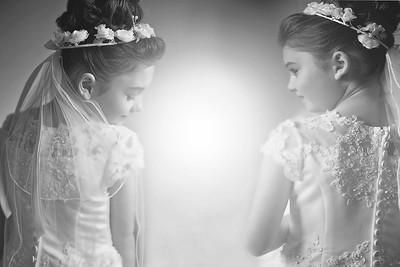 Alyssa and Victoria's Communion