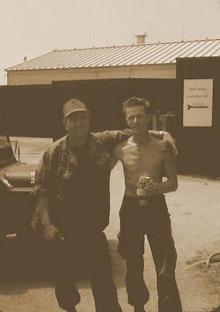 Sharons Dad on left in Viet Nam