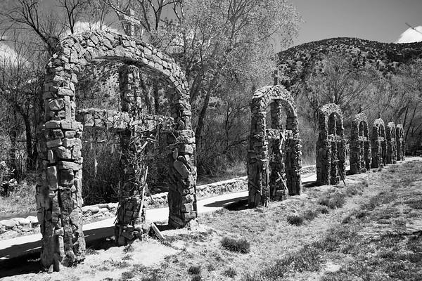 Crosses at El Santuario de Chimayo
