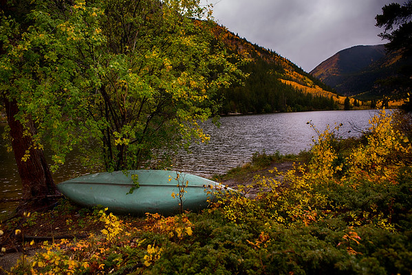 Cottonwood Lake fall colors