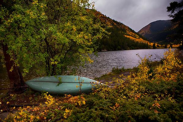 Cottonwood Lake fall colors