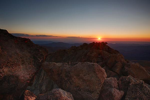 Colorado Sunrise overlooking Denver