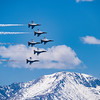 "USAF Thunderbirds over ""America's"" Mountain"