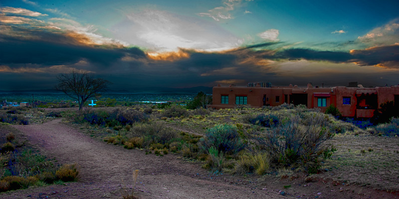 Old  Fort Marcy of Santa Fe