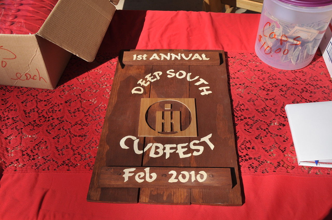 Regina Dodson made this for Ms. E to remember our 1st CubFest.