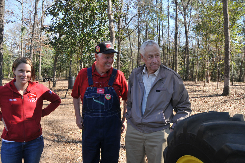 Teresa, Mr. E. and a happy Mr. Harold !!