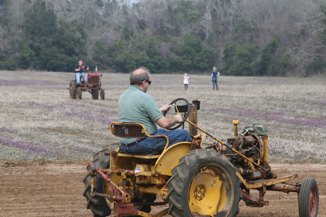 tractorboy, Rick Spivey, Leora and Kristy Winter