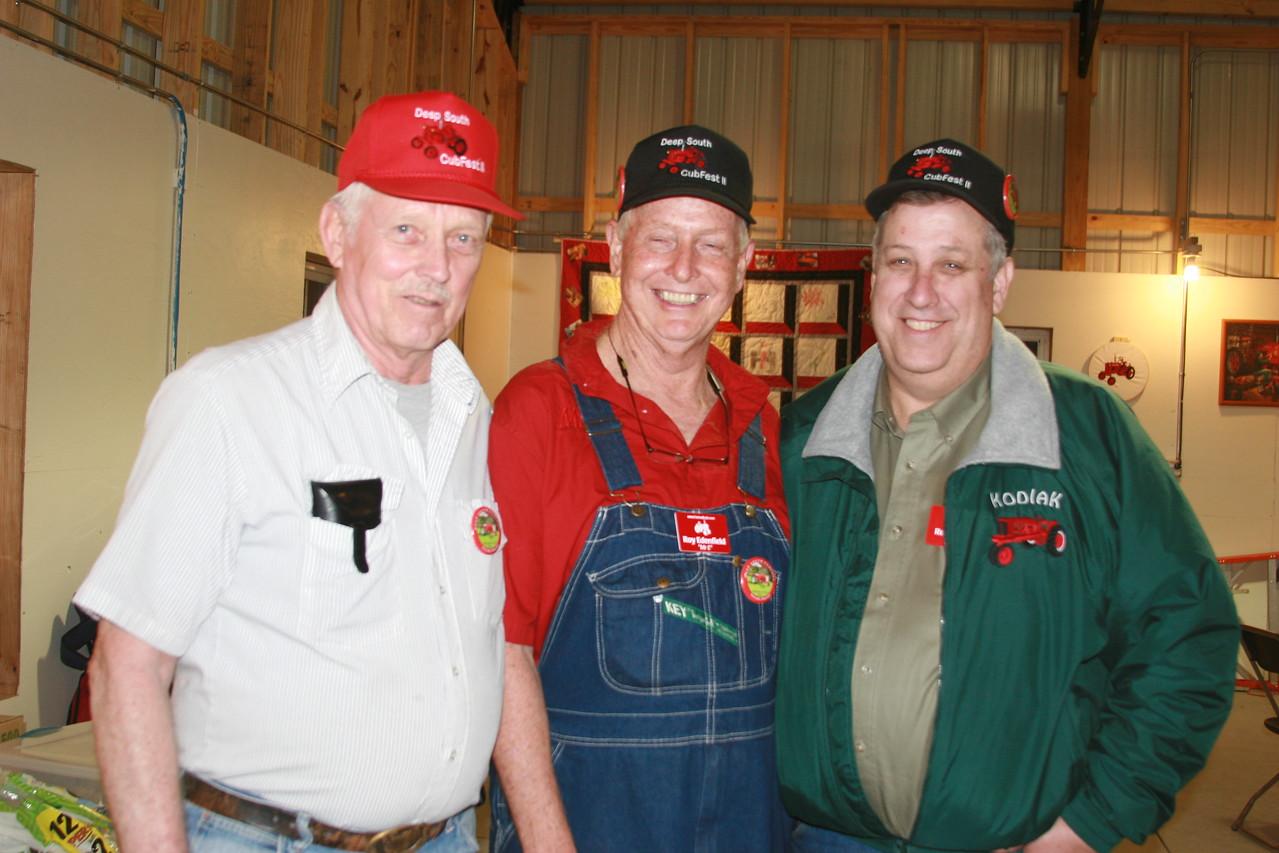 Robert Luebke, Mr. E, Ron (Kodiak) Whiting