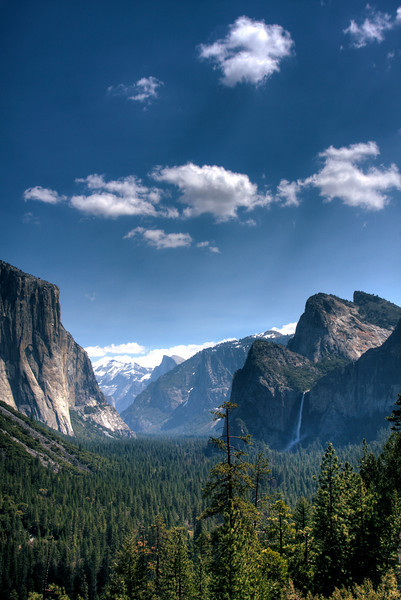 HDR in Yosemite - from Inspiration Point