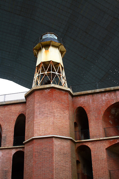 ever been in the fort UNDER the golden gate bridge?
