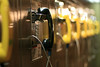 "I got ""escorted"" out of the area by 4 dudes with M-16's after taking this shot in a ""restricted area"" of Grand Central Station . . . ummm, payphones in restricted areas???"