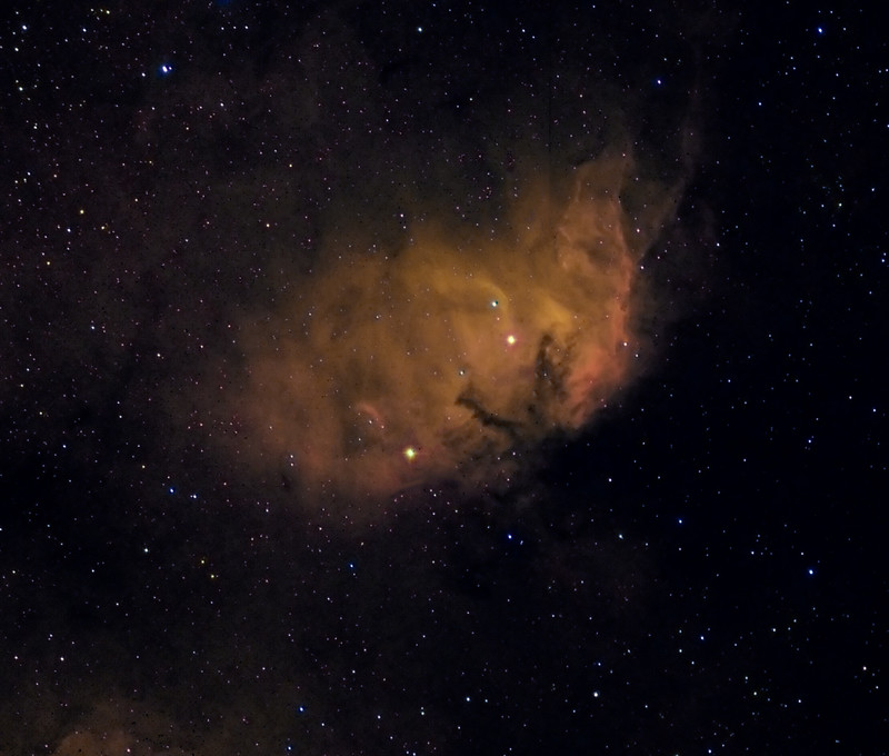 Sharpless 2-101 The Tulip Nebula