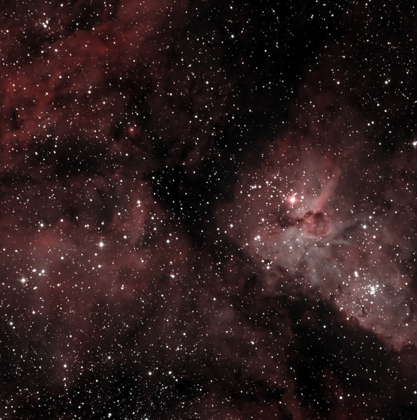 Core of the Eta Carinae Nebula