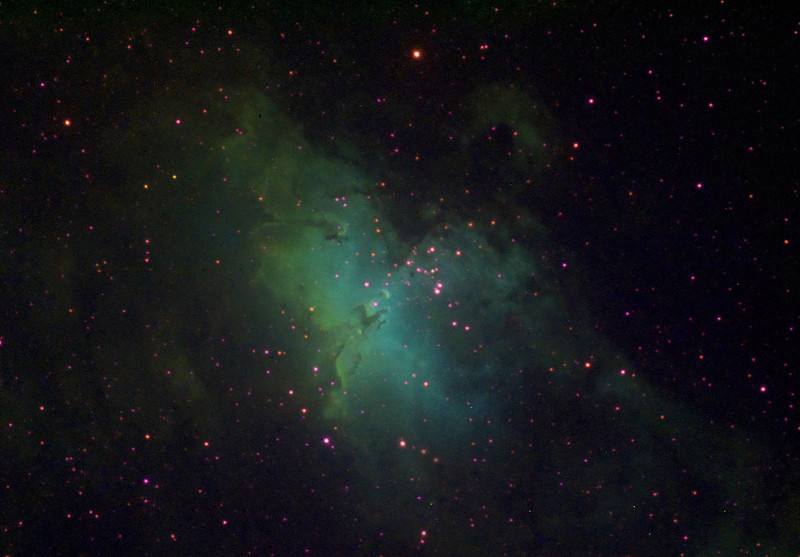 M16 The Eagle Nebula Narrowband
