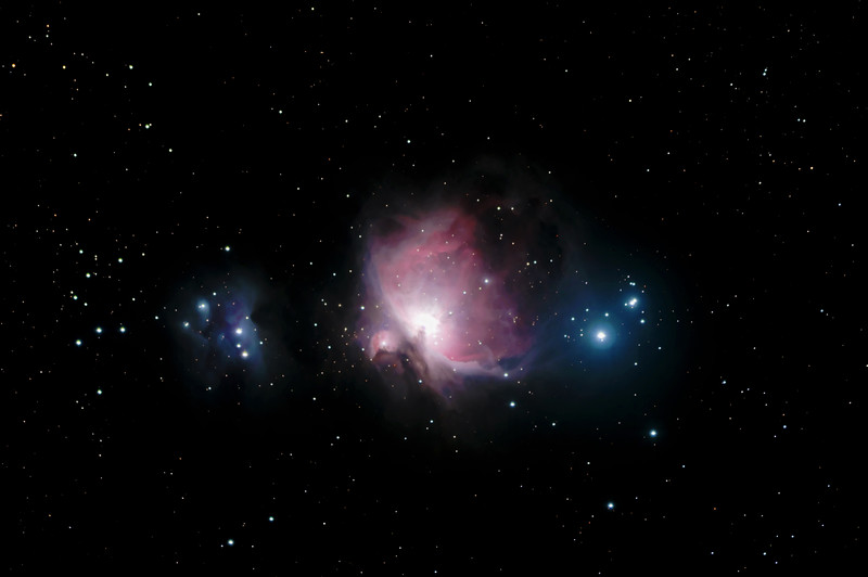 M42 and the Running Man Nebula