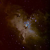 The Core of M16 The Eagle Nebula and the Pillars of Creation