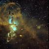 NGC3576 The Statue of Liberty Nebula