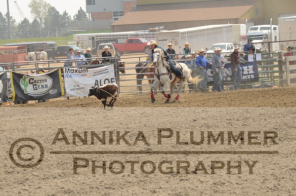03 Tie Down Roping - DSU Rodeo - Sat Perf