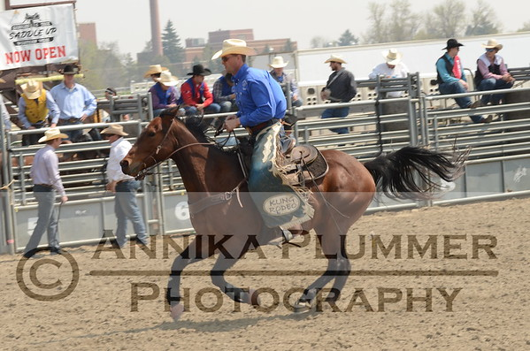 04 Saddle Bronc - DSU Rodeo - Sat Perf