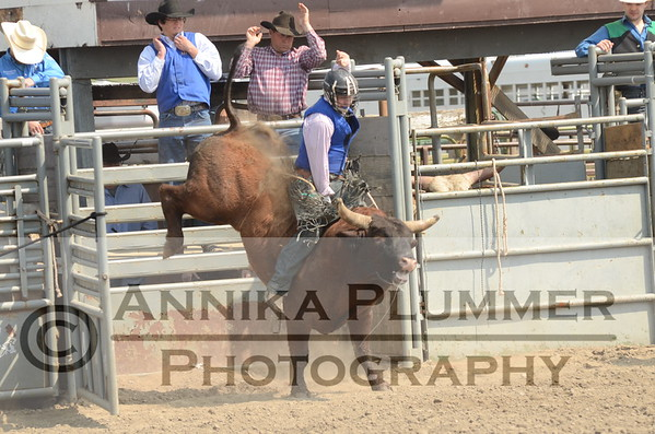 09 Bull Riding - DSU Rodeo - Sat Perf