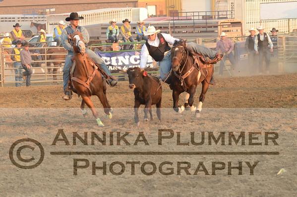 08 Steer Wrestling - DSU Rodeo Short Go