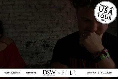 DSW & ELLE happy hour event celebrating DSW's #MarchOn USA Tour