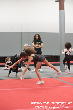 03/04/2018 Dynamite Tumbling & Cheer Allstar Practice, Photos by Jeffrey Vogt, MoCoDaily