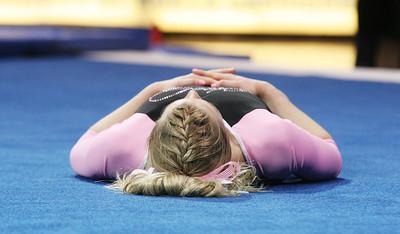 Josselyn Mackey, Freshman From Lee's Summit, Mo.   UNC Gymnastics v. George Washington and William & Mary