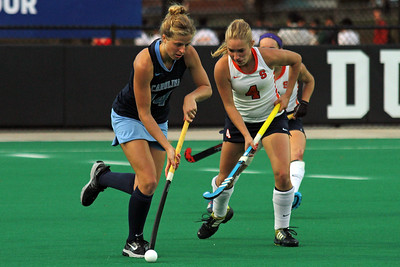The UNC women's field hockey team lost 3-2 in OT.