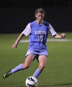 UNC women's soccer beat Duke 2-0 at Koskinen Stadium in Durham on Thursday evening.