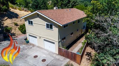 14 Aztec Avenue Forest Knolls CA Aerial Photos-4