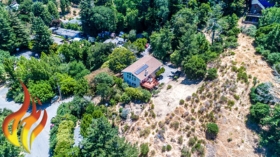 14 Aztec Avenue Forest Knolls CA Aerial Photos-6