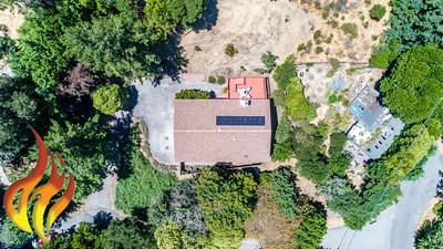 14 Aztec Avenue Forest Knolls CA Aerial Photos-1