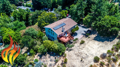 14 Aztec Avenue Forest Knolls CA Aerial Photos-2
