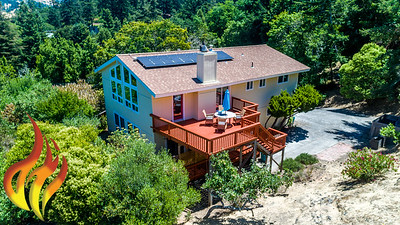 14 Aztec Avenue Forest Knolls CA Aerial Photos-9