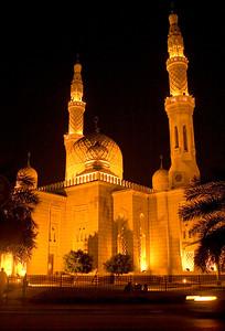 Largest Muslim Mosque in Dubai.