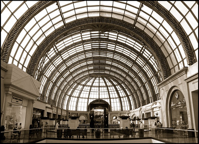Inside Mall of the Emirates, the same mall that houses an indoor ski slope.