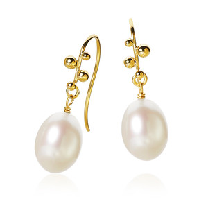 DELPHIS PEARL EARRINGS