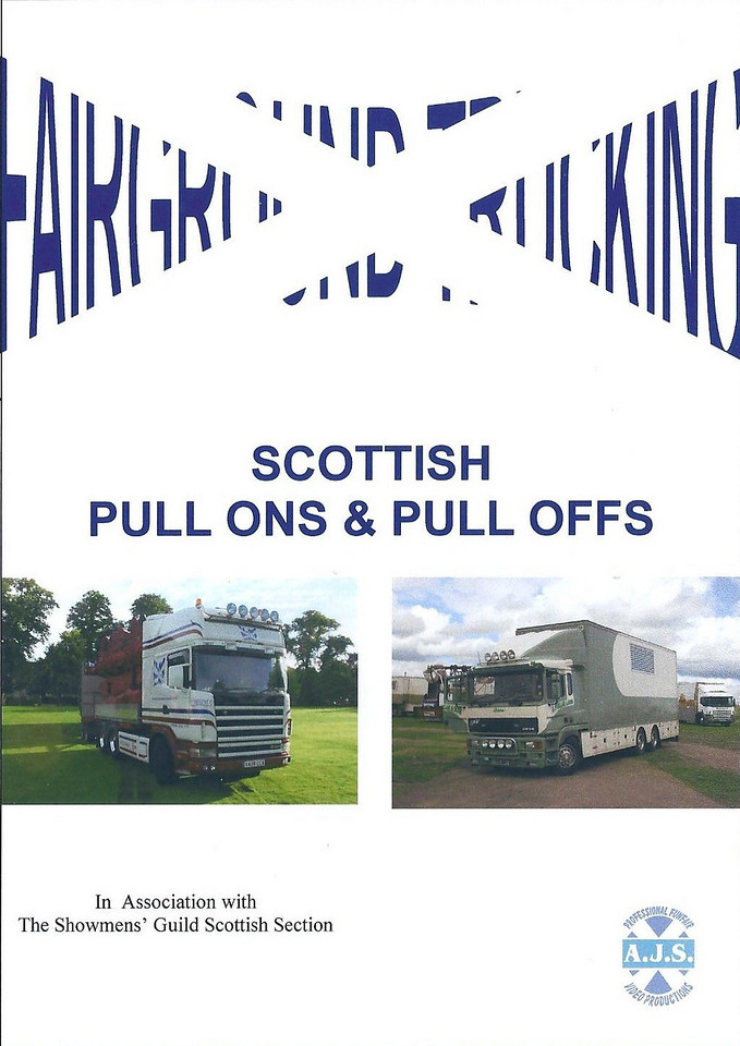 It doesn't matter if you are a Foden fan or a Volvo fan, a Scania fan or an ERF fan this DVD has it all, we have gone back over 15 years of pull ons and pull offs to bring you the best of Scottish transport.<br /> We see the M & D Taylor's fleet, Hornes Pleasure Fairs impressive vehicles, Tommy Evans ERF ECX's fresh from painting, we also look back to St Andrews 1994 to look at The White families colours.<br /> Something for everyone from Scotlands' only professional funfair video producers.<br /> <br /> Available at It doesn't matter if you are a Foden fan or a Volvo fan, a Scania fan or an ERF fan this DVD has it all, we have gone back over 15 years of pull ons and pull offs to bring you the best of Scottish transport.<br /> We see the M & D Taylor's fleet, Hornes Pleasure Fairs impressive vehicles, Tommy Evans ERF ECX's fresh from painting, we also look back to St Andrews 1994 to look at The White families colours.<br /> Something for everyone from Scotlands' only professional funfair video producers.<br /> <br /> Price : £15
