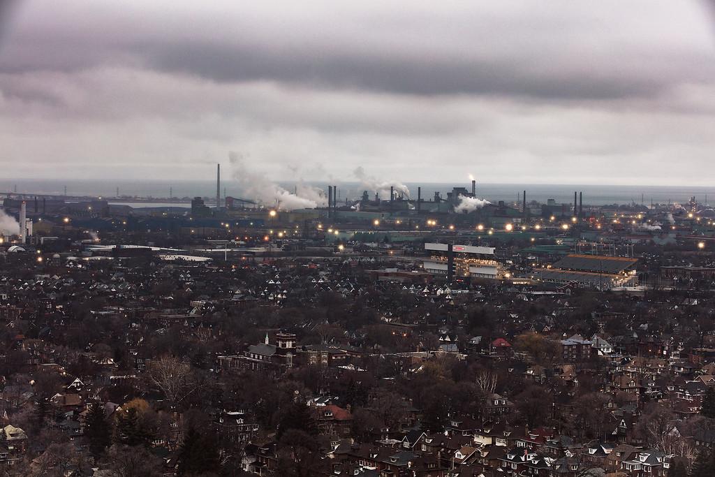 Hamilton - Ontario Skyline