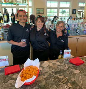 Members of the Red Tail Golf Club team