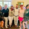 Glamorous golfers