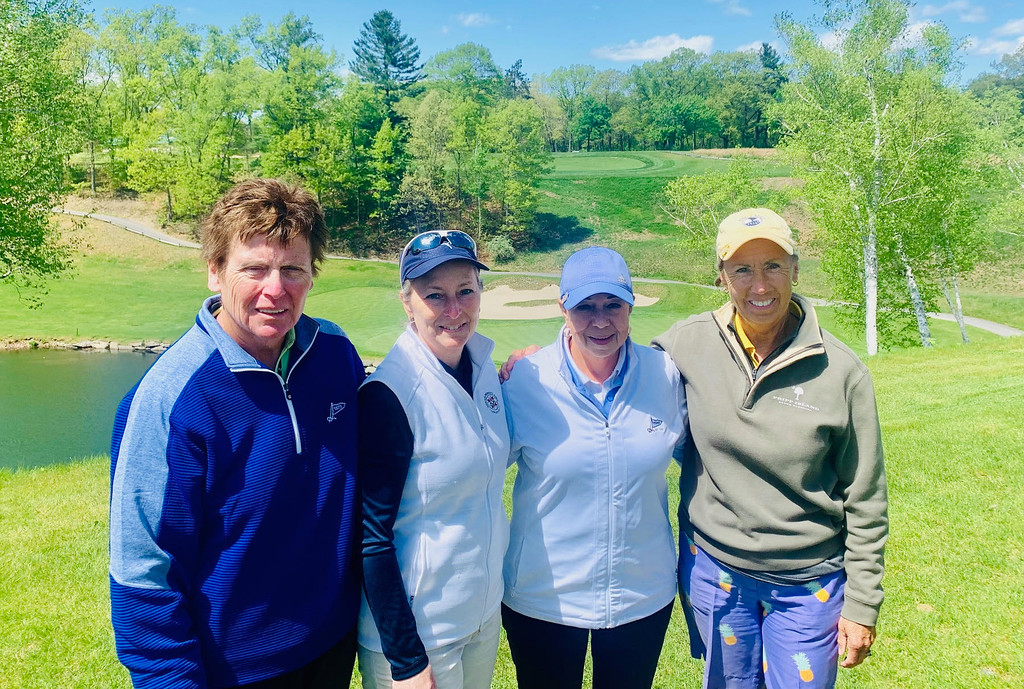 . From left, Janice Carrol of Lowell, Sheila Montminy of Groton, Diane Carmichael of Westford and Joanne Aldrich of Tewksbury