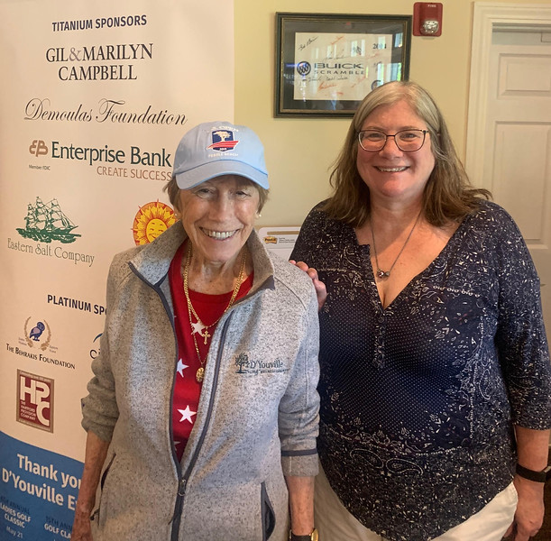 2017 honoree Gayle Kattar of Dracut and Elizabeth Papendorp of Somerville