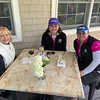 From left, Dianne McDermott of Haverhill, Clare Macoul of Windham, N.H., and Trisha Stevens of Malden