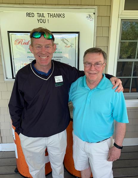Jim Sullivan of Westford and John Bukala of Lowell